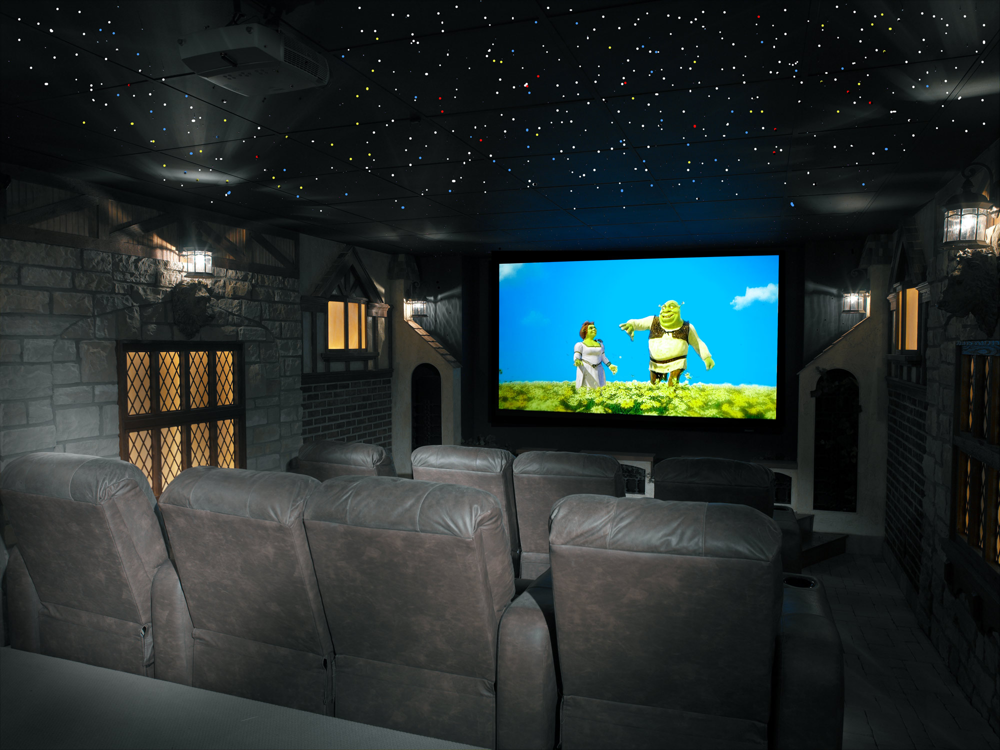 custom theater by premiere home technologies